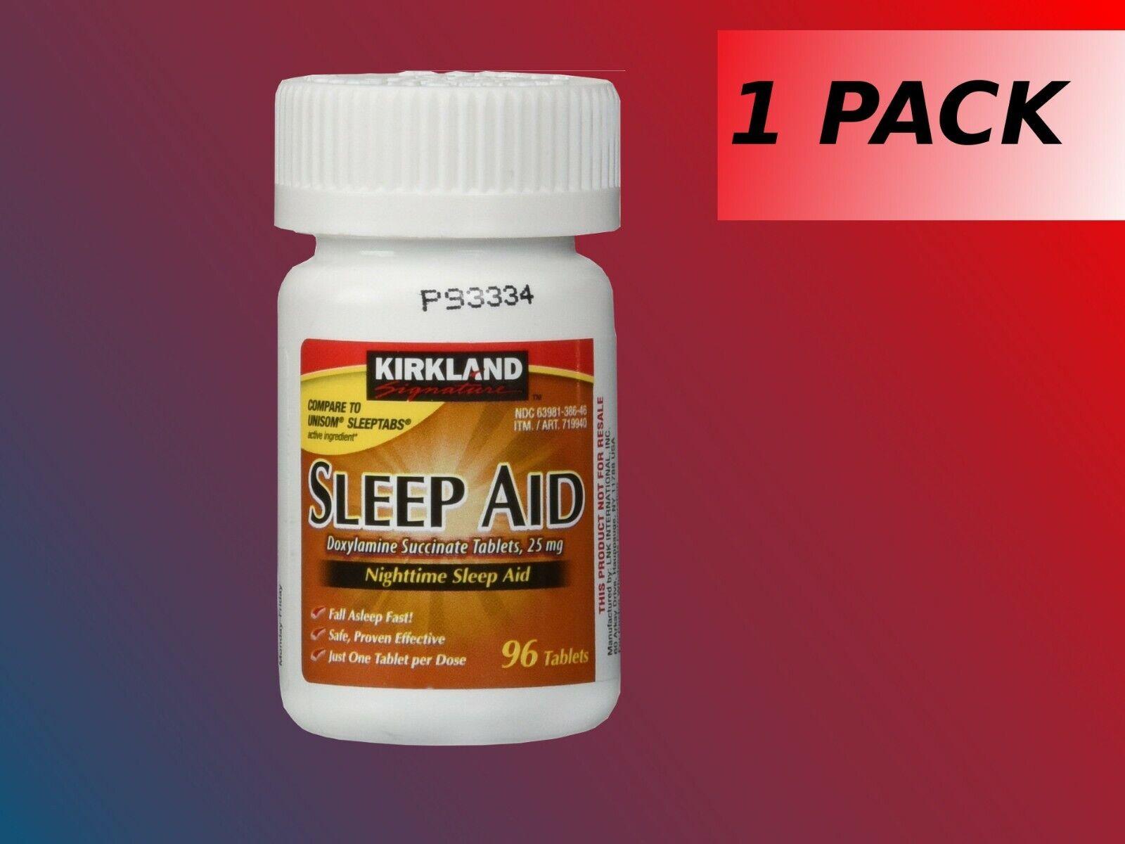 sleep aid doxylamine succinate 25 mg 96
