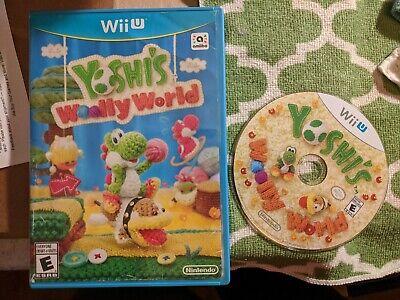Yoshi's Woolly World (Wii U, 2015) Yoshi Nintendo Games Mario