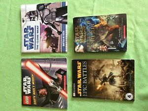 Star Wars - book collection (4 books) $10