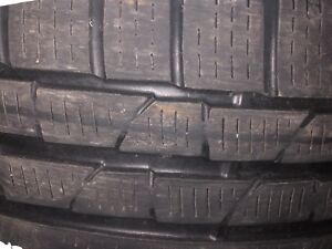 Pirelli winter tires 225-50-17 sottozero