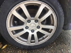 "Holden Commodore VY 17"" Wheels and Tyres Fit 5x120 Greenacre Bankstown Area Preview"