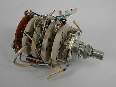 Tektronix 576 Curve Tracer Collector Supply Rotary Switch
