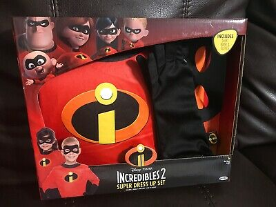 Pixar Up Merchandise (Disney Pixar's Incredibles 2 Super Dress Up Set (Licensed)