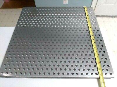 Stainless Steel 18-12 X 18-12 Perforated Incubator Shelf Rack