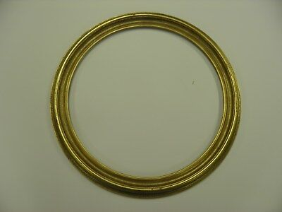"16"" ROUND PICTURE FRAMES ANTIQUE GOLD (LOT OF 1) Free Shipping"
