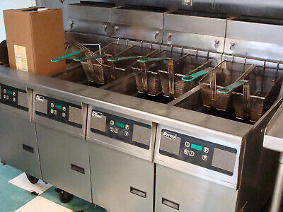 Pitco Fryer System Solstice Frialator Pick Up Only