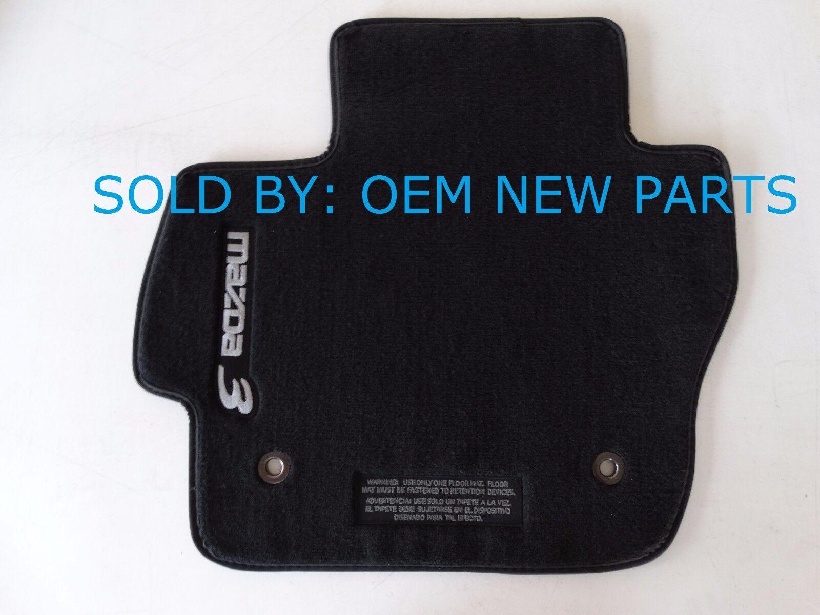 Floor mats mazda 3 - Oem 2010 2013 Mazda 3 Black Carpet Floor Mats Mat Set 0000 8b L65 2 2 Of 6