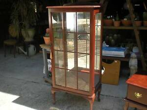 Display Cabinet with Glass Shelves Windsor Hawkesbury Area Preview