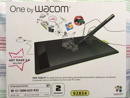 Pen tablet- One by Wacom