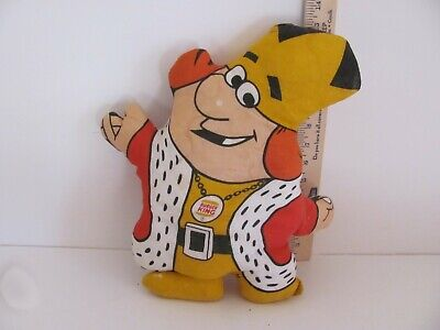 Vintage Burger King Pillow Doll 1973
