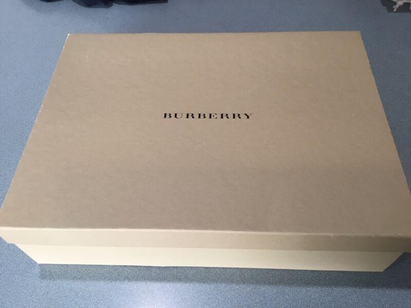 Authentic Burberry empty storage gift box 15X11X3 7/8