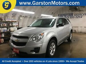 2012 Chevrolet Equinox LS*AWD*PHONE CONNECT*KEYLESS ENTRY*CLIMAT