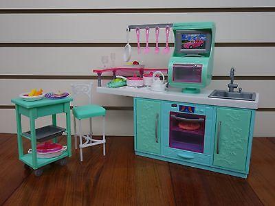Gloria,Barbie Doll House Furniture/(2816) My Fancy Life Cooking Cornor