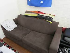 Double seater sofa with double bed South Perth South Perth Area Preview