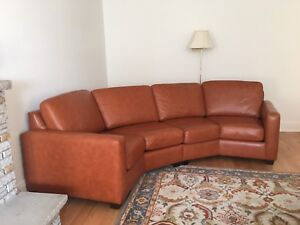 Leather couch & armchairs/recliners - for larger living space