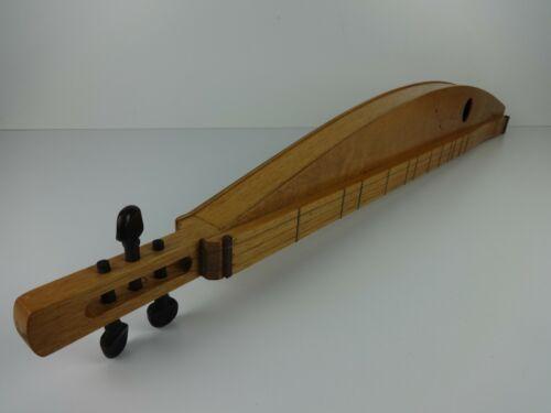 Lap Dulcimer Guitar Handmade Wooden 3 Steel String Slide Musical Instrument