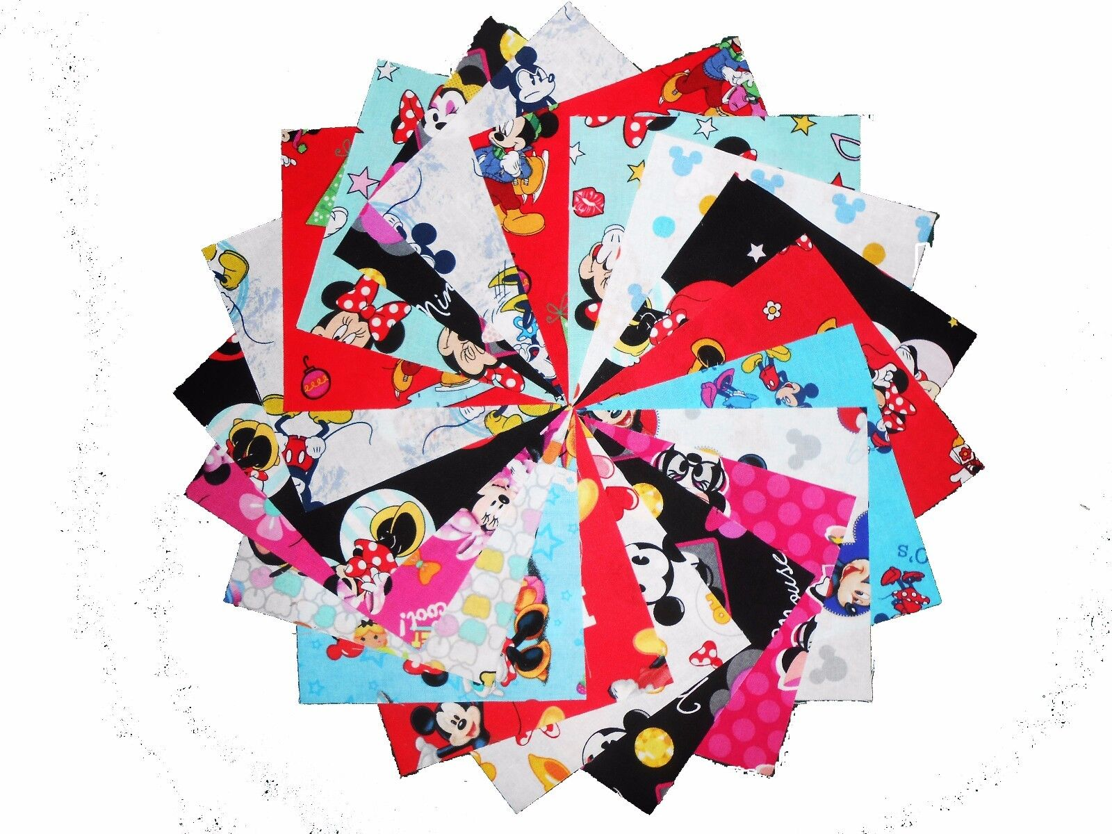 "30 5/"" Quilting Fabric Sqs//Beautiful /""Rhapsody/"" Charm Pack!!"