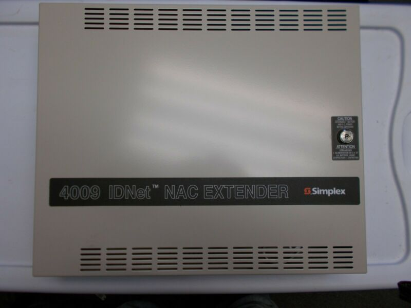 Simplex 4009-9201 4009 IDNET NAC Expander Power Supply