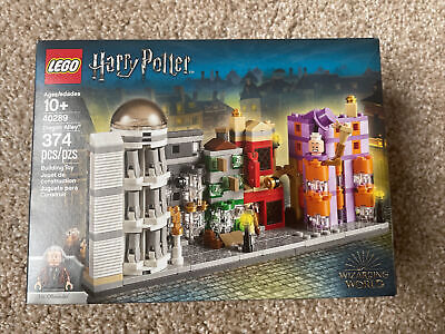 Lego 40289 Harry Potter Diagon Alley Mini Building 374 Pieces New Sealed