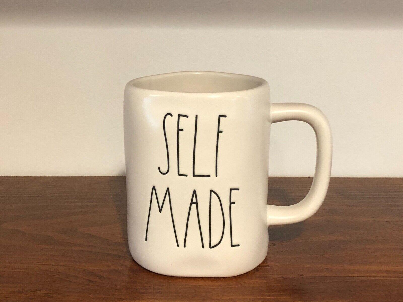 Rae Dunn Artisan Collection By Magenta Farmhouse LL Large Letter Coffee Tea Mug SELF MADE