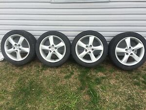"Aluminium Mags 17""+ 215/50R17 - Put winters on these rims!"