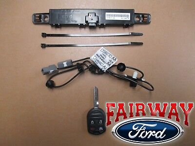 11 thru 14 F-150 OEM Genuine Ford Remote Starter Kit - Single Key - FACTORY NEW