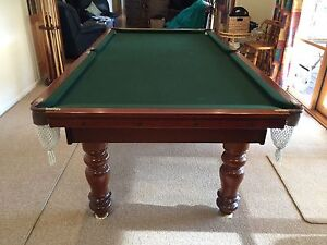 AS NEW....REDUCED...8x4ft quality pool, snooker table and accessories Main Ridge Mornington Peninsula Preview