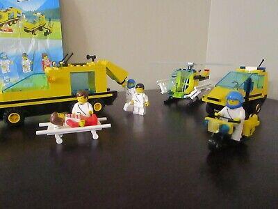 Vintage (1992) LEGO Town Emergency Ambulance set 1896 Trauma Team - VERY RARE