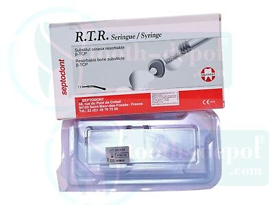 Septodont R.t.r Rtr Resorbable Bone Graft Substitue Material Dental Use Only