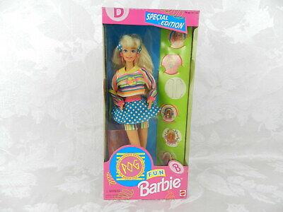 Pog Fun Barbie 1994 Mattel NRFB