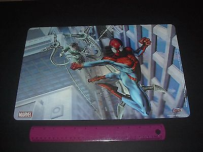 (MARVEL COMICS SPIDER-MAN VS DOC OCK 3-D HOLOGRAM PLACEMAT 2005)