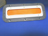 MARKER LIGHT  YELLOW  DIA:1.5  GLASS NEW OLD STOCK A-9823-2  GRIMES FILTER