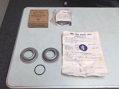 2 REAR WHEEL GREASE SEALS CHAMP-ITEMS NO. 353 FITS MANY VEHS FROM 1946 TO 1961