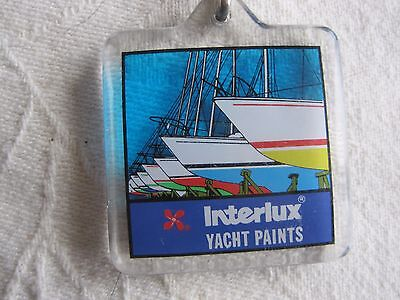 Crop INTERLUX YACHT PAINT KEY CHAIN