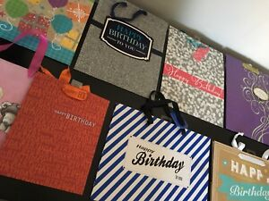 Huge collection of new gift bags