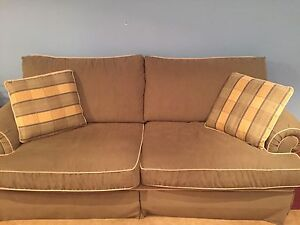 Couch loveseat and chair