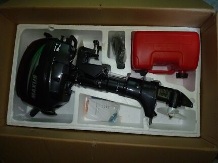 MAXUS 9.8hp TWO STROKE OUTBOARD MOTOR.