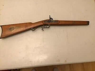 "3 3//4/"" x 7//8/"" Brass side plate for black powder muzzleloader rifle"
