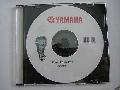 YAMAHA OUTBOARD SERVICE  REPAIR  MANUALS - 1995-1996-1997-1998-1999 ALL MOTORS