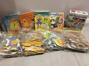 4 Nursery books and puzzles sets Revesby Bankstown Area Preview