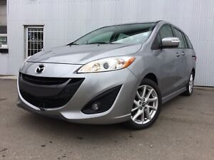 2015 Mazda Mazda5 GT, 3RD ROW SEATING, LEATHER, SUNROOF.