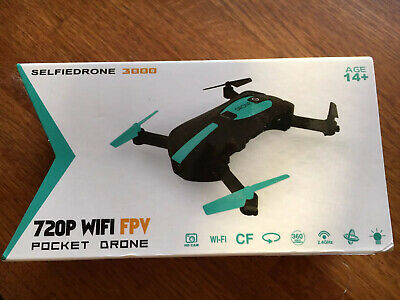 SelfieDrone3000 WIFI FPV HD Camera Foldable Selfie RC Quadcopter. Freely Shipping