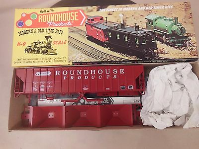 Ho Scale Roundhouse 7725 1992 Fmc Covered Hopper Kit Nos