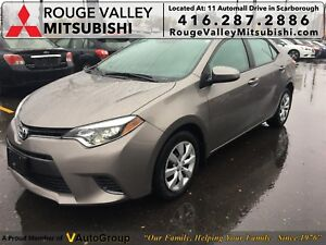 2015 Toyota Corolla LE, NO ACCIDENTS, LOW MILEAGE !!!