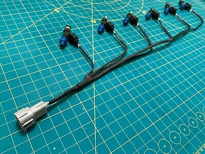 Compatible with Skyline R33 RB25DET Series 2 ID1000 Injector Harness Loom
