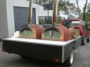 Wood fired Pizza Parties - DIY party trailer hire Jimboomba Logan Area Preview