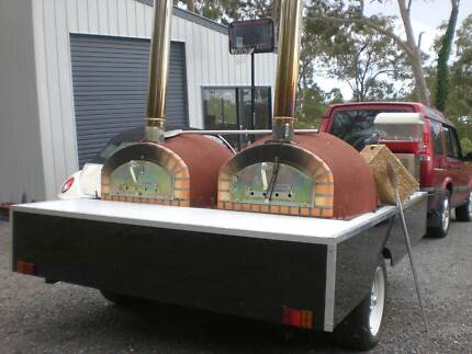 Wood Fired Pizza Parties - DIY pizza trailer  party  hire Jimboomba Logan Area Preview
