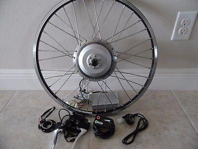 "8fun 48V rear Wheel Electric Bicycle 24"" Motor Conversion Kit 1400W max disc hub"