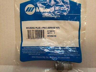 Miller 079878 Housing Plug And Pins Service Kit New In Bag