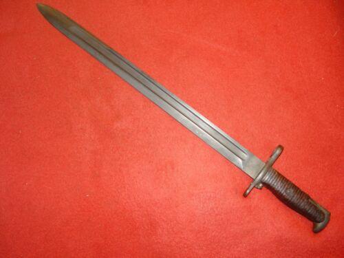 "Model 1905  S, A.  16"" Bayonet 1920 Dated   Two Tone Blade Orig. Walnut Grips"